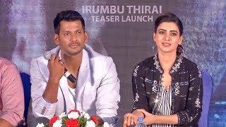 Irumbu Thirai Teaser Launch - Vishal | Arjun | Yuvan Shankar Raja