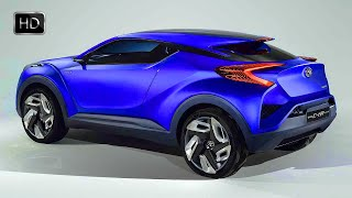getlinkyoutube.com-VIDEO: 2016 TOYOTA C-HR Concept Hybrid Crossover HD