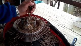 getlinkyoutube.com-pellettatrice anulare autocostruita da 2,2kw