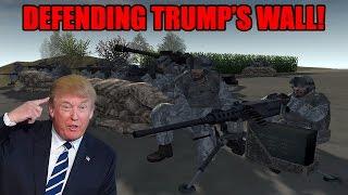 getlinkyoutube.com-DEFENDING TRUMP'S WALL ~ Red Rising Mod - Men of War: Assault Squad 2
