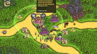 Kingdom Rush Frontiers - Casual - LEVEL 9 - 3 STARS