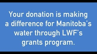 2016 LWF Grants Program - Local investment in fresh water