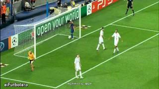 getlinkyoutube.com-FC Barcelona 2-2 AC Milan | Highlights (13/9/2011)