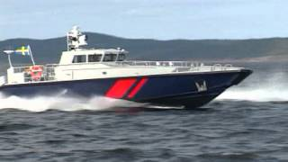 getlinkyoutube.com-IC 16 M - Fast Patrol boat from Dockstavarvet