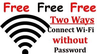 getlinkyoutube.com-(TWO Ways) HOW TO CONNECT WIFI WITHOUT PASSWORD!