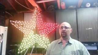 getlinkyoutube.com-250 Pixel Star 2015 Leechburg Lights