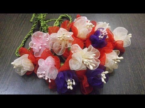 Küpe Çiçeği Yapımı