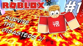 getlinkyoutube.com-I LOST MY LEGS!!! Roblox Survive the Disasters 2 (#1)