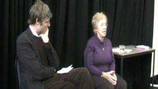 11 Feb 2010 - Eva Schloss talking to Zac Goldsmith
