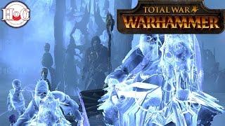 Huge Vampire vs Empire Battle - Total War Warhammer Online Battle 228