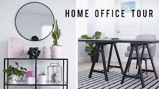 Home Office Tour + Desk Decor 2017 🏡    ANN LE