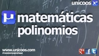 Imagen en miniatura para Factorizacion de polinomios 02