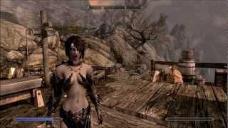 getlinkyoutube.com-Skyrim - Female Vampire Lord Showcase