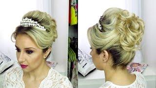 getlinkyoutube.com-Penteado  Princesa ( Noiva) por Priscila Barbosa