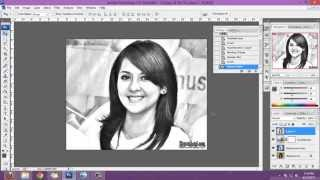 getlinkyoutube.com-cara gampang membuat sketsa pensil dari photoshop