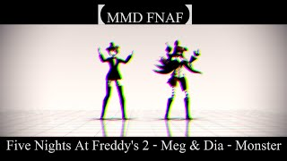 getlinkyoutube.com-【MMD FNAF】Five Nights At Freddy's 2 - Monster || MOTION EDIT BY #PARKER || DL!