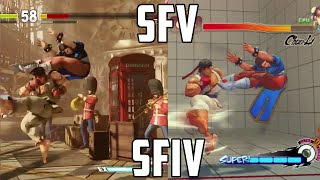 Street Fighter 5: Speed/Combo Comparison