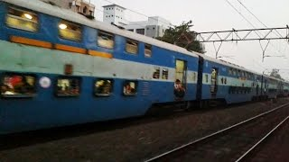 getlinkyoutube.com-India's only Non-AC Double Decker Superfast Train between Mumbai-Surat