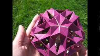 getlinkyoutube.com-Origami ❉ Money-Box ❉ Kusudama