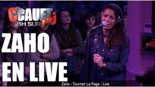 Zaho - Tourner La Page - Live - C'Cauet sur NRJ