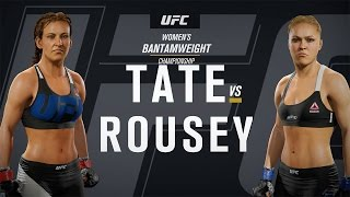 getlinkyoutube.com-EA SPORTS UFC 2 Gameplay - Ronda Rousey vs Miesha Tate