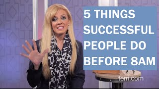 getlinkyoutube.com-5 Things Successful People Do Before 8 a.m.