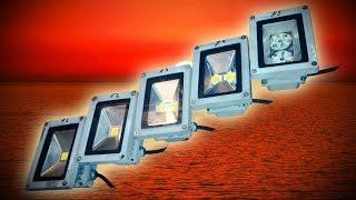 Переделка сгоревших LED 10W прожекторов в поисках лучшего варианта