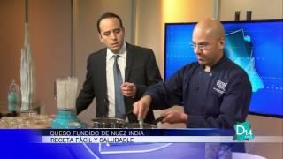 Eddie Garza prepara Queso Fundido de Nuez India