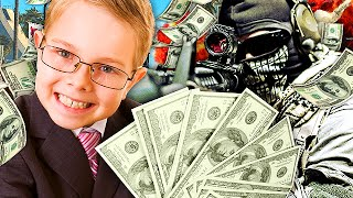 WORLDS DUMBEST RICH KID GETS EXPOSED ON CALL OF DUTY! (Black Ops 2 Trolling)