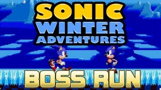 getlinkyoutube.com-Sonic Winter Adventures - Boss Run (No Damage) - Demo Bosses
