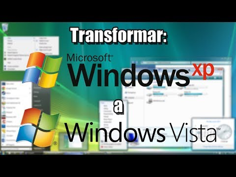 Transformar Windows XP a Windows Vista - HD