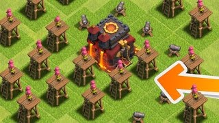 "getlinkyoutube.com-Clash of Clans - WORST BASE IN HISTORY! ""WTF!"" Destroying Horrible Clash of Clans Base! (CoC Troll!)"