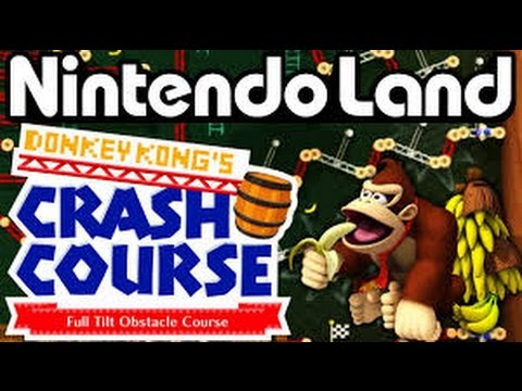Nintendo Land - Donkey Kong's Crash Course Feat. GameCUBER and GamerCUBIX