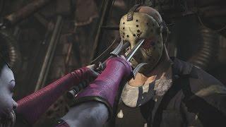 getlinkyoutube.com-Mortal Kombat X - All X Ray Moves on Jason Voorhees (1080p 60FPS)