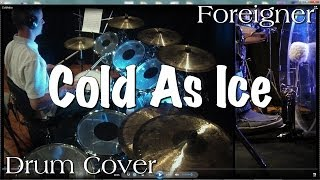 Foreigner - Cold As Ice Drum Cover width=