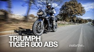 getlinkyoutube.com-TEST | TRIUMPH TIGER 800 ABS, le flegme british !