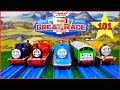 THOMAS AND FRIENDS THE GREAT RACE #101 TRACKMASTER THOMAS THE TANK ENGINE TOYS TRAIN FOR CHILDREN