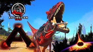 MODDED ARK: Extinction Core :: Ep 24 :: MEGA ALPHA ALLOSAURUS!