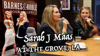 getlinkyoutube.com-Q&A WITH SARAH J MAAS AT THE GROVE