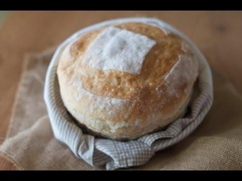Pan amasado a mano