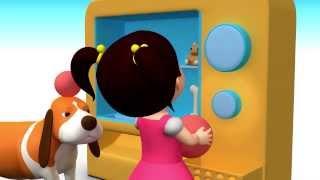getlinkyoutube.com-Английский язык для малышей : Мяу-Мяу - Big and small - Мультик 8