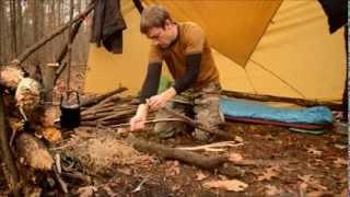 getlinkyoutube.com-Overnight Bushcraft Camp