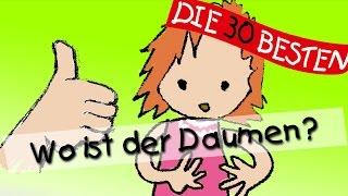 getlinkyoutube.com-Wo ist der Daumen - Die besten Spiel- und Bewegungslieder || Kinderlieder