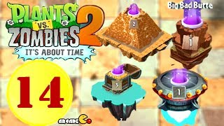 getlinkyoutube.com-Plants vs. Zombies 2 - Far Future Ancient Egypt Pirates Wild West Endless waves Compilation