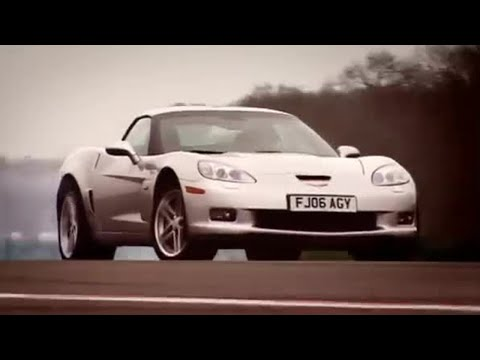 Corvette Z06 car review - Top Gear - BBC