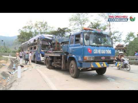 Tai nạn giao thông tại đèo Lò Xo - Kon Tum