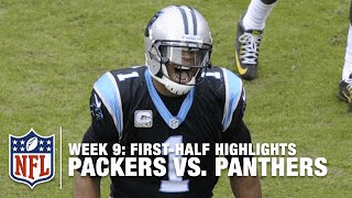 getlinkyoutube.com-Panthers & Cam Newton Make a Statement in the 1st Half vs. Packers | Packers vs. Panthers | NFL
