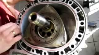 getlinkyoutube.com-Mazda rx 7, engine 13B, Rebuilding rotor engine, Final Stage