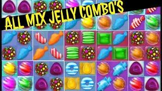 getlinkyoutube.com-Candy Crush Jelly Saga Special All Combos!