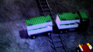 getlinkyoutube.com-lego train crash tests with lego trucks and a bus